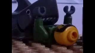 lego jaws quint and bruce/shark death