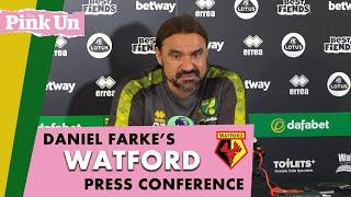 Daniel Farke ahead of Watford   Zimmermann & Hanley nearing return