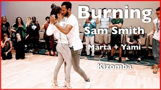 Sam Smith - Burning | Kizomba Dance | Yami Step One & Marta Mignone | Washington DC Zouk Festival