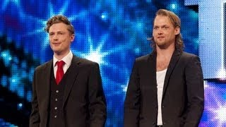 Sexy magicians Brynolf and Ljung - Britain's Got Talent 2012 audition - International version