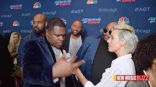 America's Got Talent Backstage: Linkin Bridge