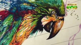 Graffiti facelift for Dubais Karama Street