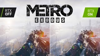 Metro Exodus With RTX & DLSS - A Gamer's Perspective!