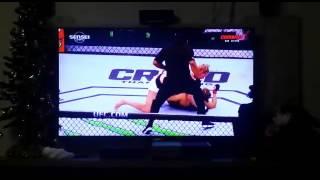 Ronda Rousy e nocauteada e perde o cinturão !