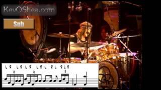 Led Zeppelin Rock and Roll Ending - John Bonham transcription