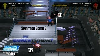 Dangerous Move By Jeff Hardy   WWE SD! HCTP 2003  