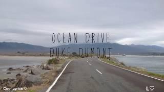 Ocean Drive-Duke Dumont (Español-Inglés)