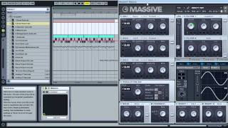 How to automate synced LFO rates with Massive and Ableton Live
