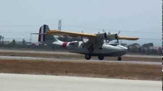 4  GRUMMAN J2F DUCK  and CANADIAN VICKERS PBY5A