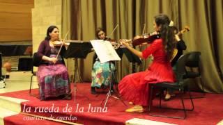 """Cuarteto de Cuerdas """"La rueda de la luna"""" - Video Promocional 2014"""