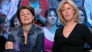 Agnès Soral UPSKIRT + Gros délire Chantal LADESOU chez Cauet