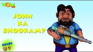 John Ka Bhookamp   Motu Patlu In Hindi WITH ENGLISH, SPANISH & FRENCH SUBTITLES