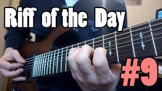 Riff of the Day #9 | Schecter Omen-8 | Bias Desktop | Lee Allan
