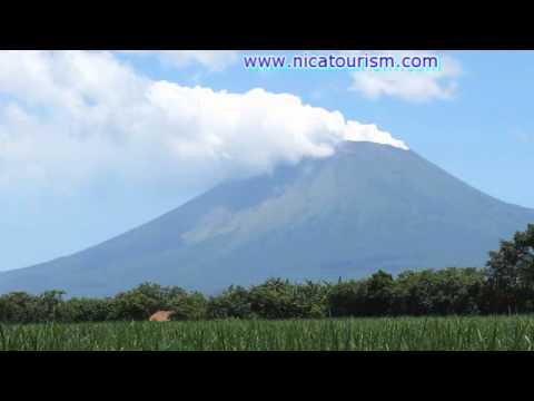 San Cristobal volcano smoking