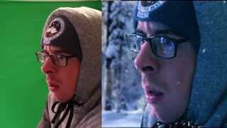 Before&After | Green Screen | After Effects (Snow Storm)