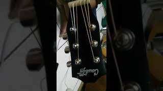 Gitar 3/4 cowboy jw 120 na test sound