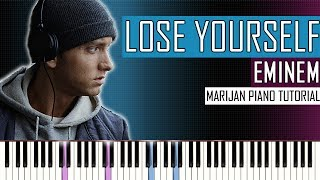 How To Play: Eminem - Lose Yourself | Piano Tutorial