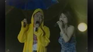 CHANG TI...in the rain ( Live )...with YU YAR