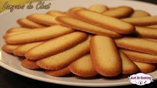 Recette des Biscuits Langues de Chat