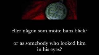 Nordman - Om Gud Var Jag (lyrics & eng. subs)