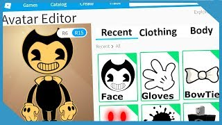 Roblox Making Bendy and The Ink Machine An Account