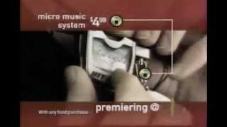 Britney Spears & 'N Sync - McDonalds Commercial Hitclips