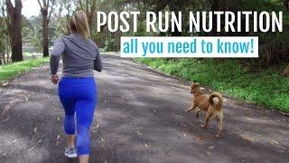 Post Run Nutrition