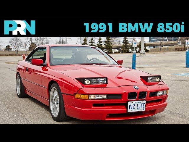 V12 Manual 8 Series   1991 BMW 850i   TestDrive Spotlight