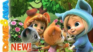 😋 Ring Around the Rosie | New Nursery Rhymes and Baby Songs | Dave and Ava 😋