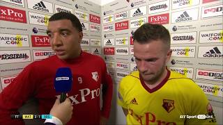Troy Deeney roasts Hector Bellerin in post-match interview