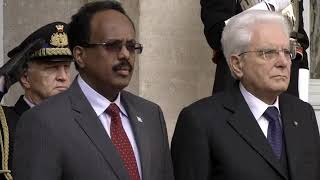 Somali President pays a 3-day visit to Italy