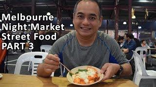 SUMMER NIGHT MARKET STREET FOOD - PART 3 - Queen Victoria Market, Melbourne - Gnocchi & Feijoada
