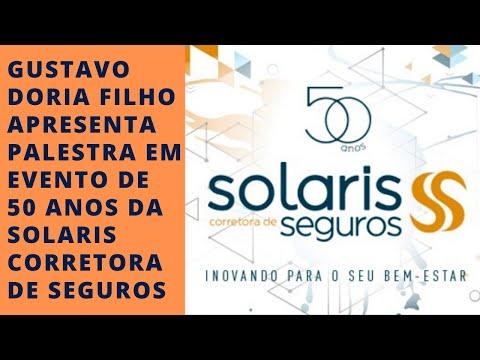 Imagem post: Gustavo Doria Filho apresenta palestra em evento de 50 anos da Solaris Corretora de Seguros
