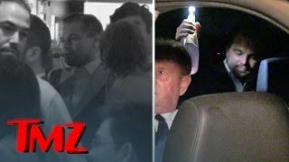 Leonardo DiCaprio Celebrates Oscar Win -- Drinking & Vaping   TMZ
