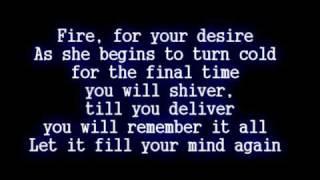 Disturbed - Inside the Fire [Lyrics]