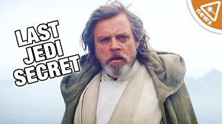 How Luke Skywalker Is Hiding a Dark Secret in The Last Jedi! (Nerdist News w/ Jessica Chobot)