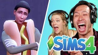 Ryan Controls His Friend's Life In The Sims 4 • Shane width=