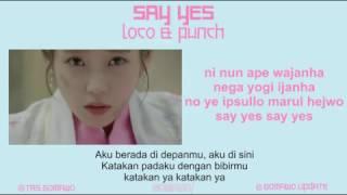 PUNCH - SAY YES (Ost. Moon Lovers) [MV, EASY LYRIC, LIRIK INDONESIA]