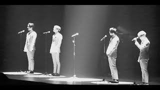 SHINee members burst in tears as they perform without Jonghyun for the first time