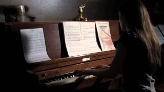 Mendelssohn's Six Christmas Pieces opus 72, andante sostenuto