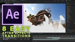 8 easy After Effects transitions