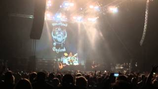 """Motörhead """"Overkill"""" Live at NIA Birmingham November 2014"""