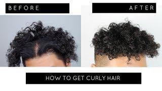 How To Perm Your Hair At Home!  Curly Hair Tutorial   TIGHT CURLS  (HEATLESS + EASY)    BRANCH1302