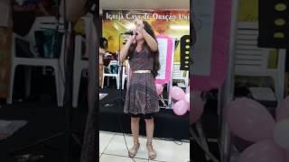 Cantora Wanessa Nogueira - A Presença  [ Eliane Fernandes] em Cambé PR 2017