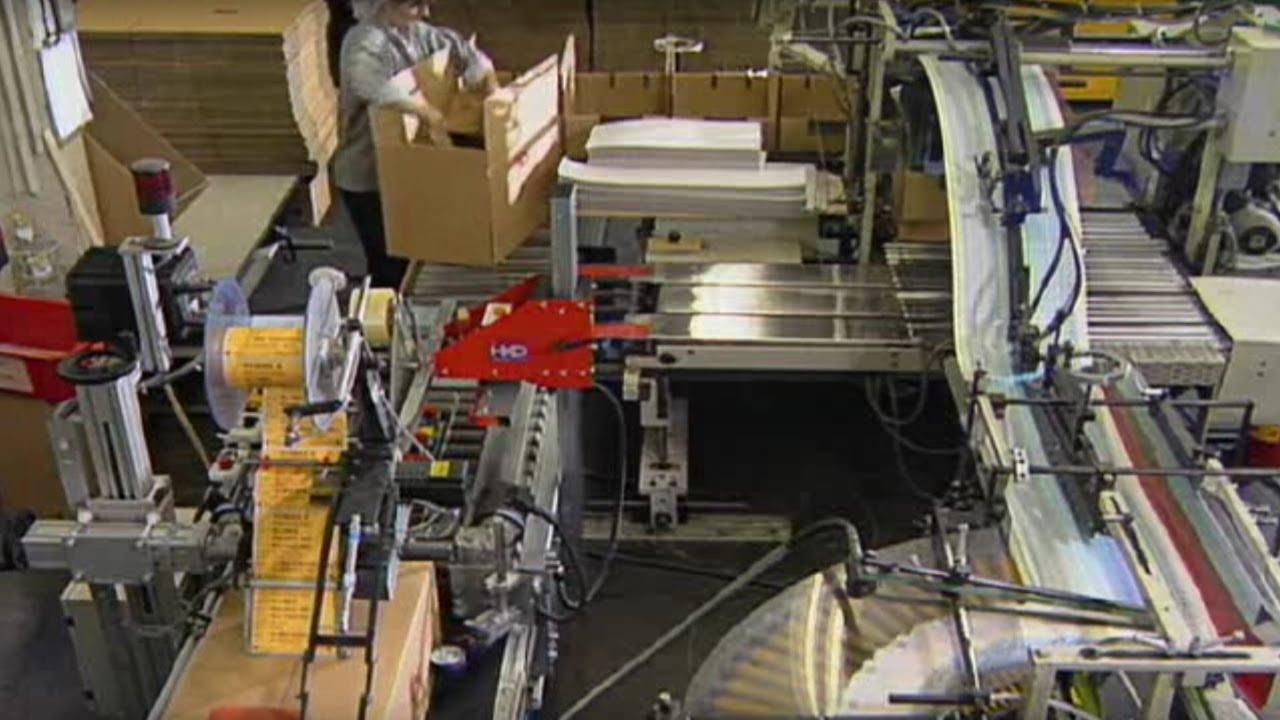 Palettierer für Mehrplatzverpackungsanlage