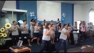 Som da Liberdade - DJ PV ft  Ivair Filho & Tevão Lino - Dança Gospel (Coreografia)
