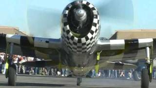 """P-47 Thunderbolt """"No Guts No Glory"""" at Chino, California"""