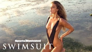 Nina Agdal Soaks Up The Sun, Takes A Dip In Zanzibar | Uncovered | Sports Illustrated Swimsuit