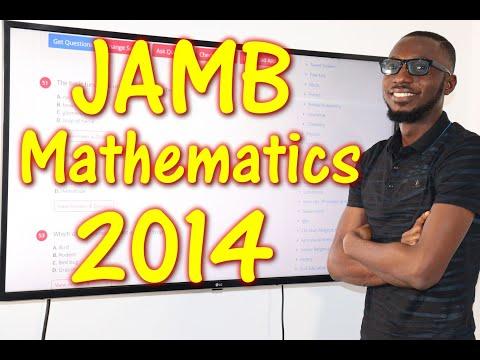 JAMB CBT Mathematics 2014 Past Questions 1 - 16