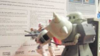 RX-78-2 gundam Beam rifle test stop motion